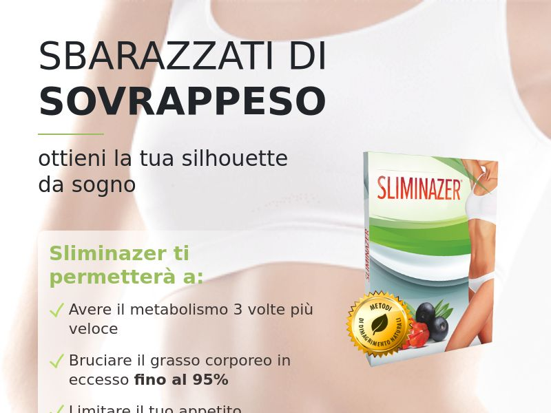Sliminazer - IT (IT), [COD], Health and Beauty, Supplements, Sell, Call center contact, coronavirus, corona, virus, keto, diet, weight, fitness, face mask