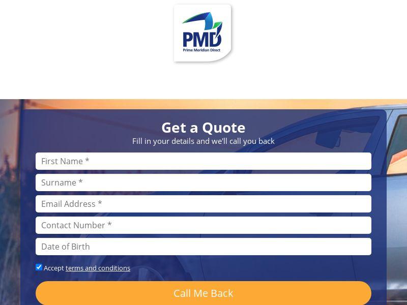 Prime Meridian - Car Insurance (ZA) (CPL)