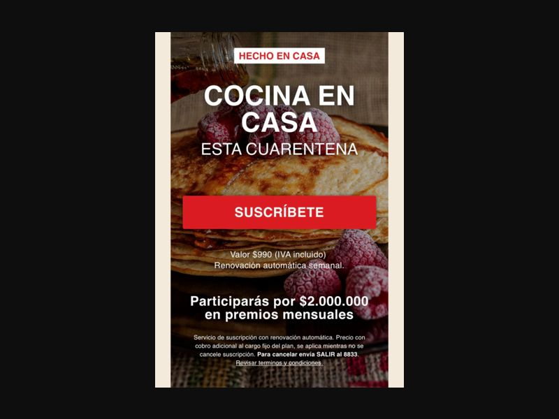 CL - Cooking book (Entel only) [CL] - 1 click