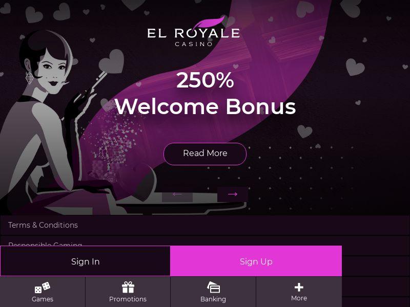 El Royale - CPA - Display Only - US/UK