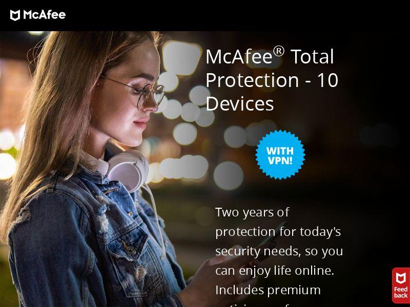 McAfee - Antivirus - CPA - [15 countries]
