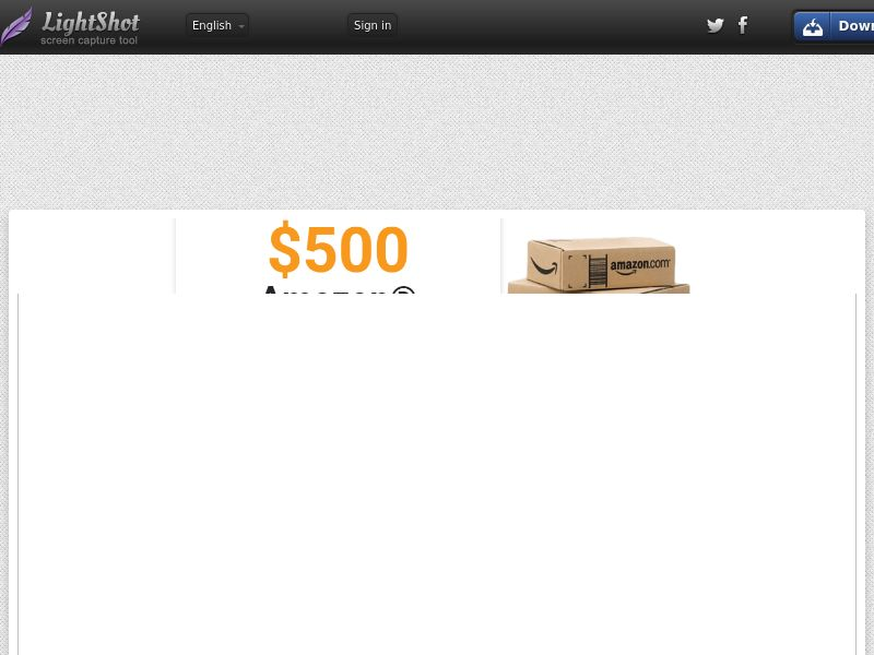 ConsumerRewardsCenter - Amazon $500 Giftcard (US) (CPL) (Personal Approval)
