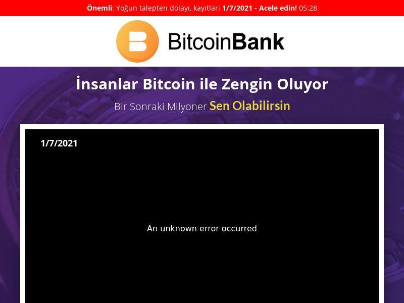 Bitcoin Bank - TR