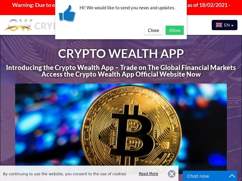 Crypto Wealth App Russian 2470