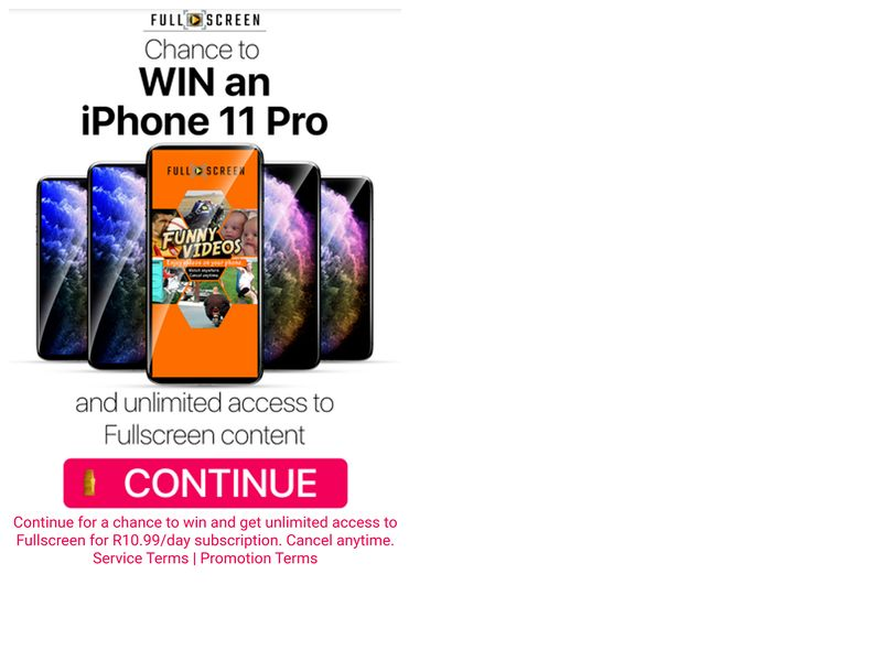 Win Iphone 11 Pro Vodacom