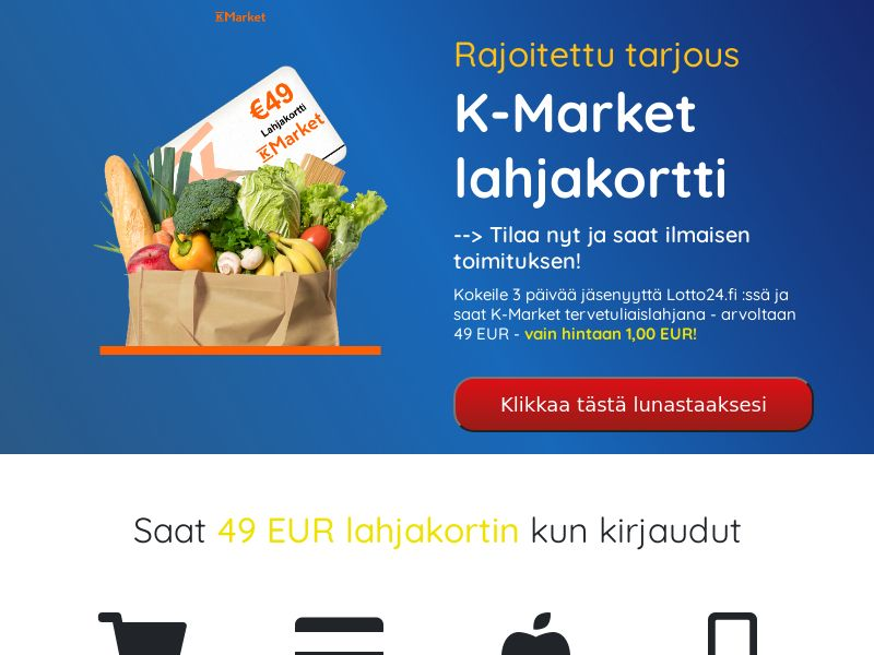 K-Market (Supermarket Giftcard) - FI