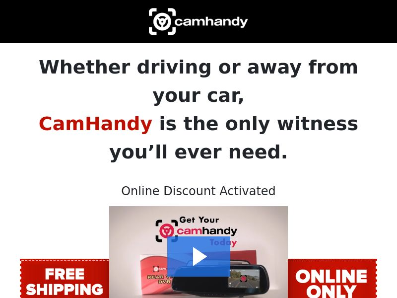 CamHandy - Driving Assist - CPA - [US]