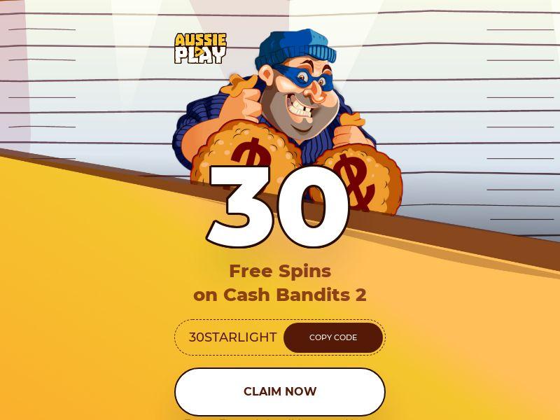 Aussie Play 30 Free Spins - AU