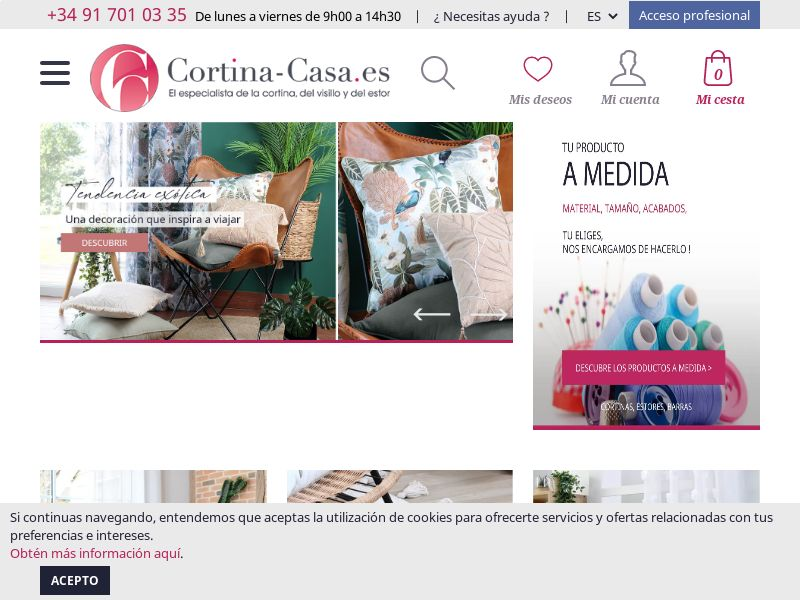 Cortina Casa - ES (ES), [CPS], Accessories and additions, Accessories, House and Garden, For children, Furniture, Household items, Animals, Home decoration, Garden, Sell, shop, gift
