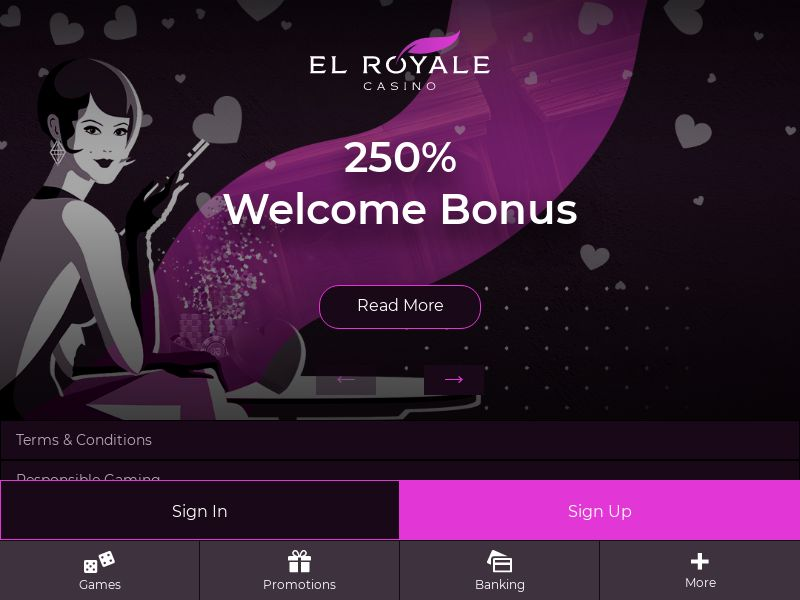 El Royale - CPA - Email Only - US/UK