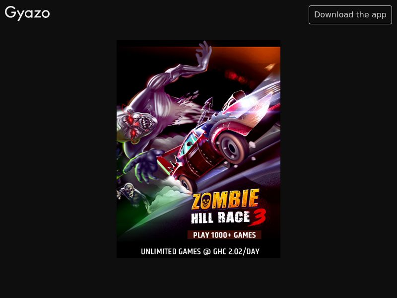 Zombie Hill Race (GH)
