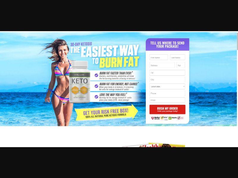 Vital Lean Keto - Diet & Weight Loss - Trial - [US]