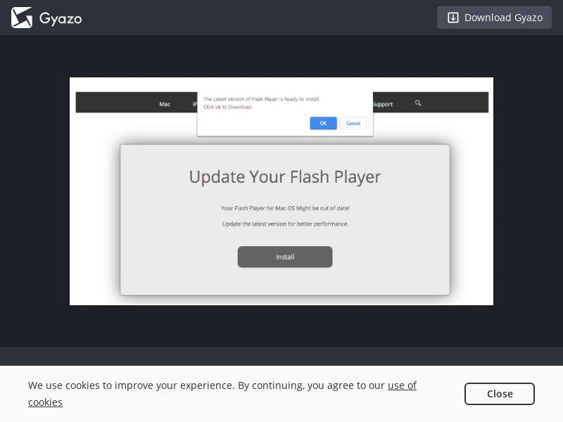 Flash Player Safari - Desktop - CPI - US, CA, GB, FR, DE