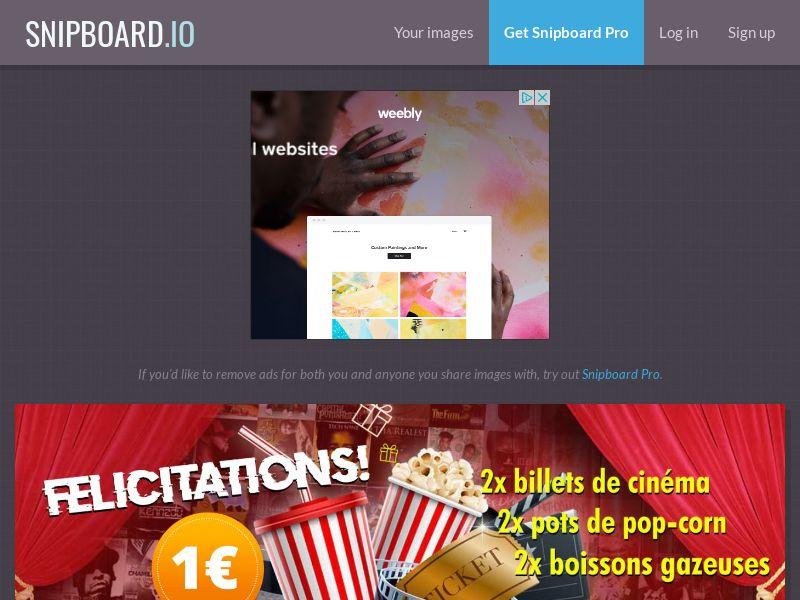 SteadyBusiness -Cinema Tickets LP18 FR - CC Submit