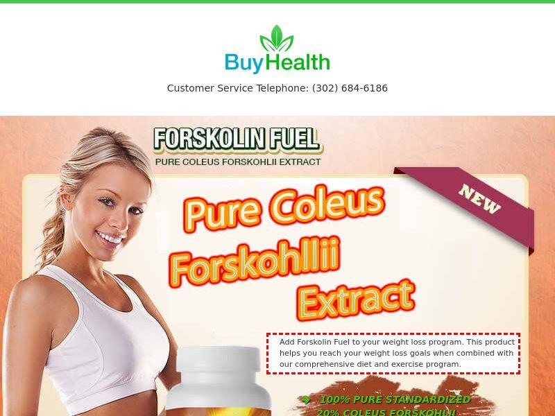 Forskolin Fuel CPA