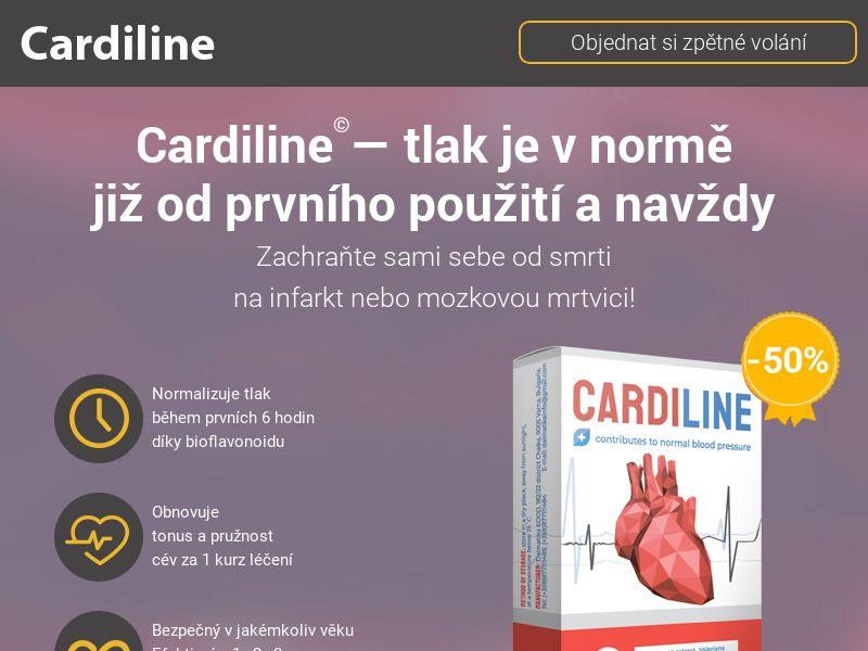 Cardiline CZ - pressure stabilizing product