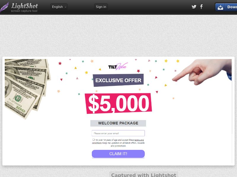 TILT Win Casino (CA) (CPS) (Personal Approval)