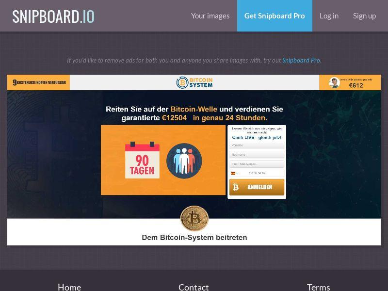 39991 - DE - Crypto - Bitcoin System - (DE) - FTD (min $250)