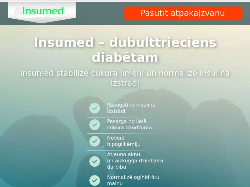 Insumed LV - sugar control supplement