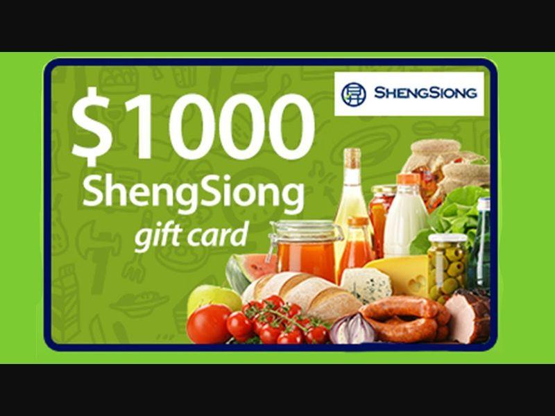 ShengSiong Supermarket Voucher - SG