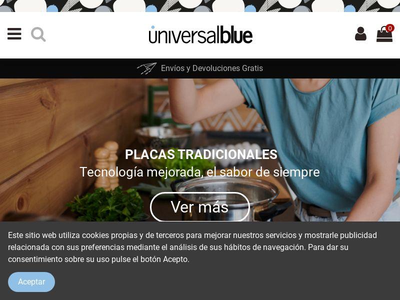 Universal Blue - ES (ES), [CPS]