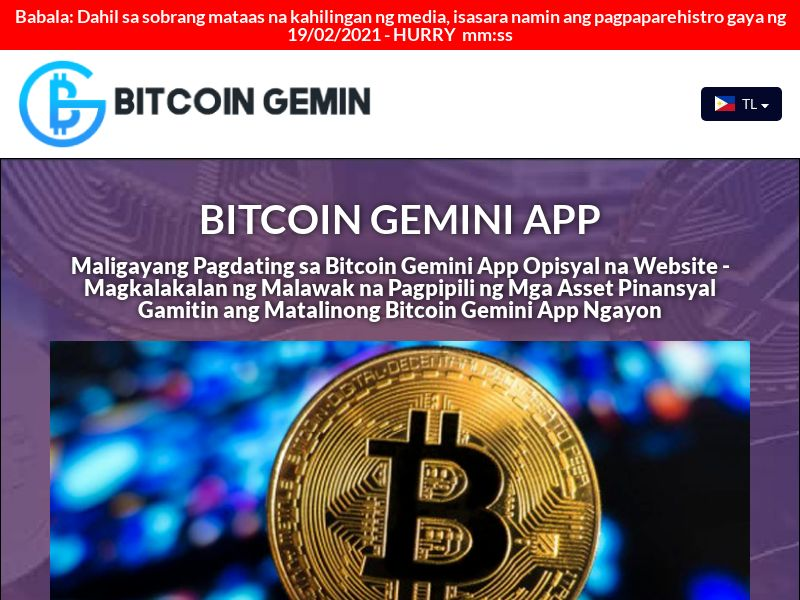 The Bitcoin Gemin Filipino 3322