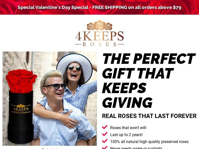 4Keeps - Eternal Roses - CPA - [US]