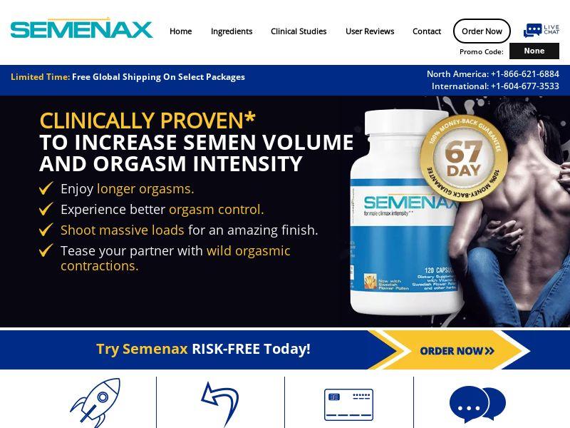 Semenax - Revshare - Responsive