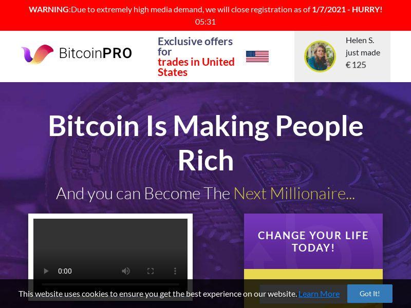 Bitcoin Pro - Smartlink - 57 Countries
