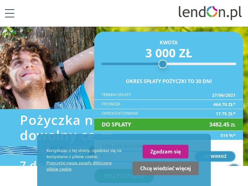 LendOn.pl (PL), [CPA]