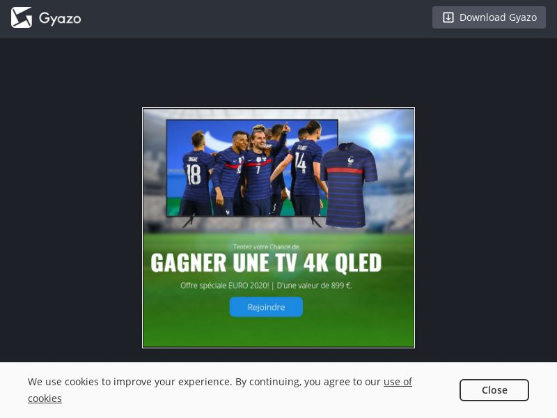 EURO 2020 - Win 4K QLED TV (FR) (CPL)