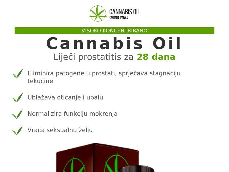 Cannabis Oil HR (prostatitis)