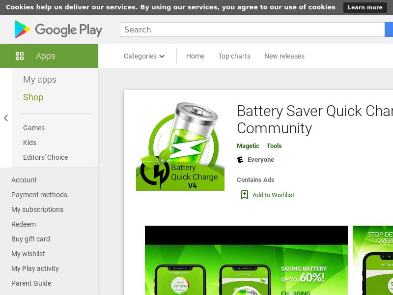 Community Battery Saver Android - INCENT - SI