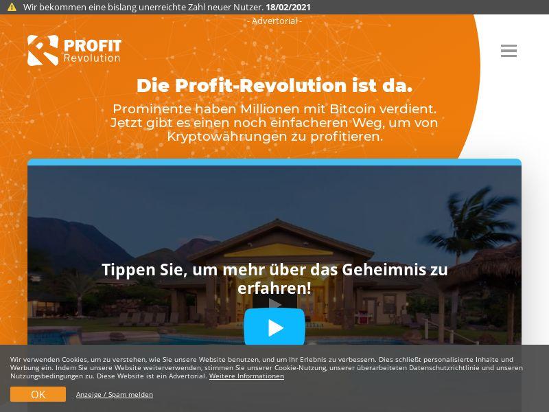 Profit Revolution DE (DE), [CPA], Business, Investment platforms, Cryptocurrencies, Financial instruments, Deposit Payment, bitcoin, cryptocurrency, finance, money
