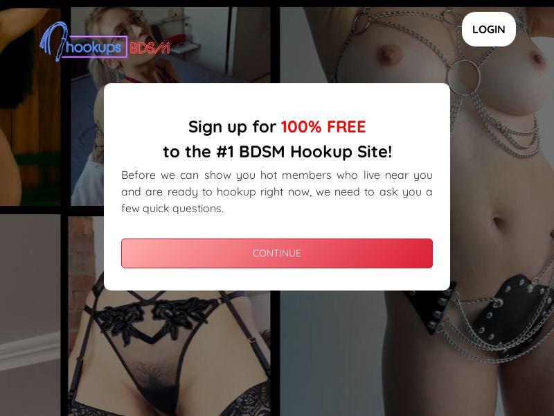 HookupsBDSM.com (US, CA, UK, AU, NZ) (Trial)