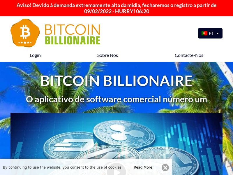 Bitcoin Billionaire Pro Portuguese 1098
