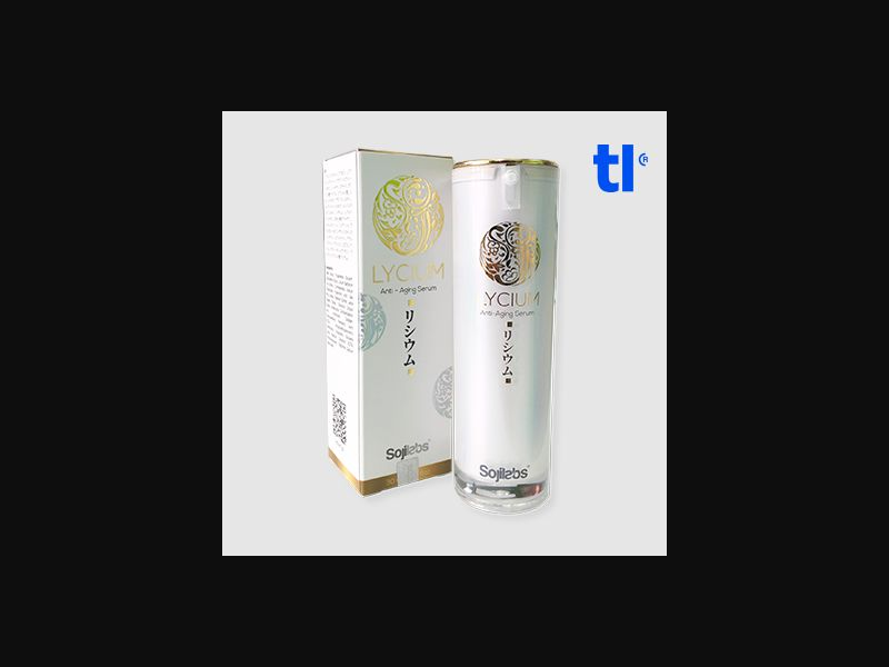 Lycium serum - Beauty - CPA - COD - Nutra