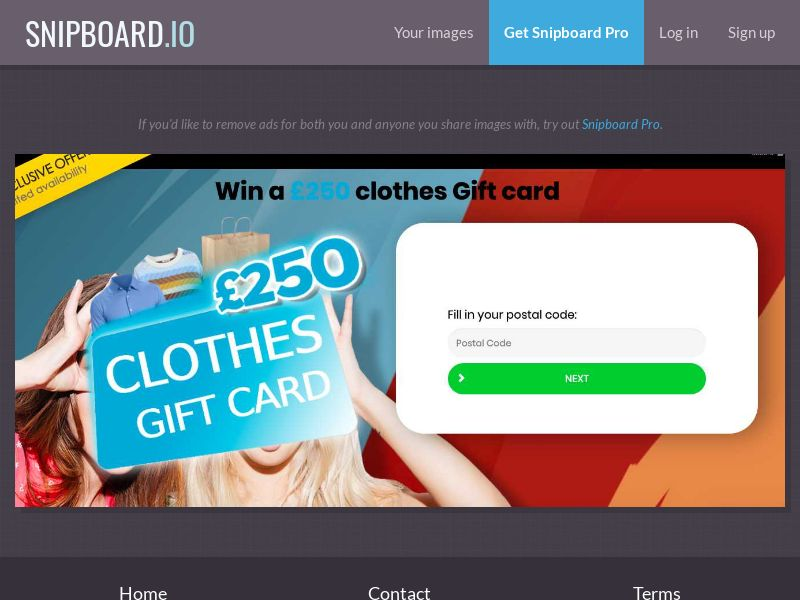 36907 - UK - YouSweeps - Win clothes gift card - SOI