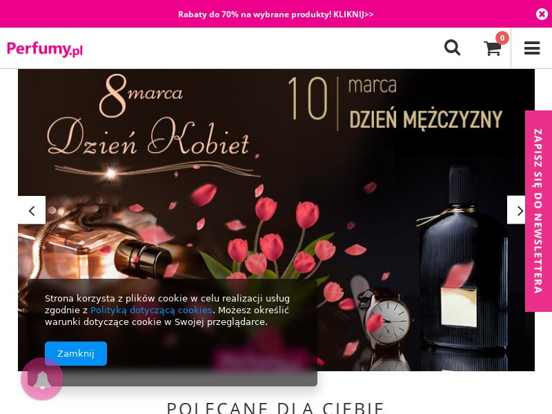 Perfumy.pl - PL (PL), [CPS], Health and Beauty, Cosmetics, Sell, coronavirus, corona, virus, keto, diet, weight, fitness, face mask