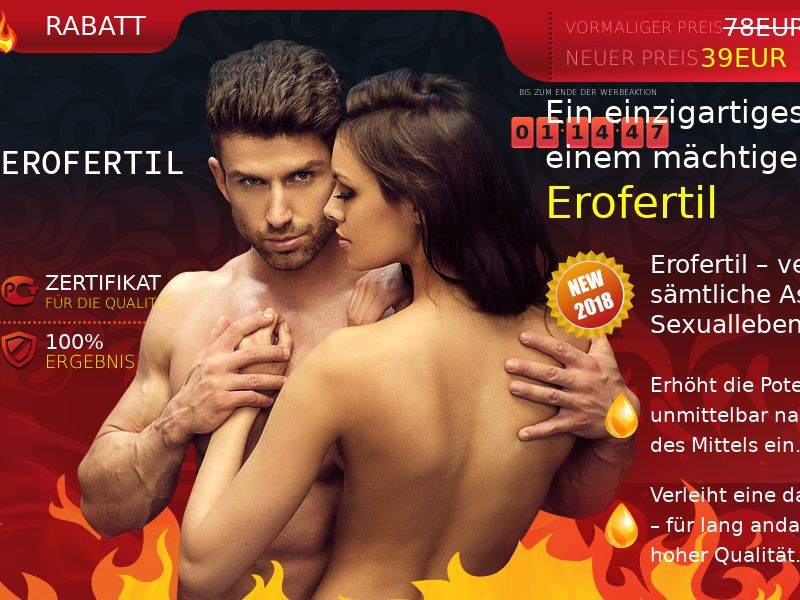 Erofertil AT - potency treatment product