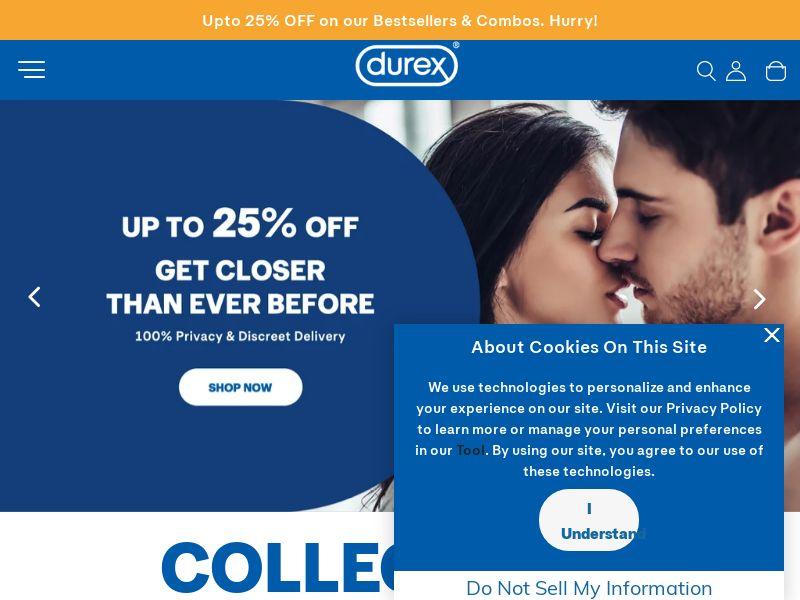 DurexIndia.com CPS - India
