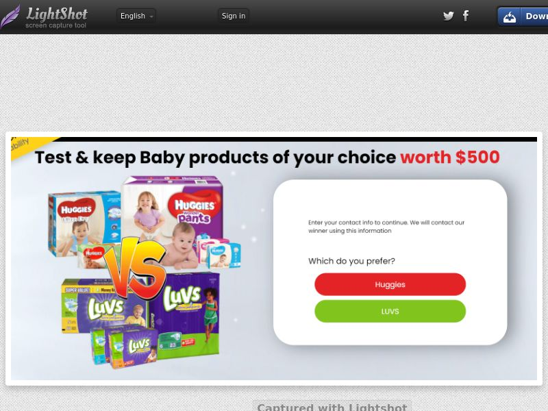 ForYouPromo - Test and Keep Baby Products (US) (CPL) (Personal Approval)