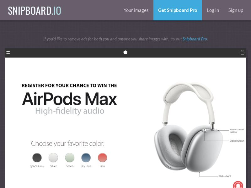 NectarContests - AirPods Max UK - SOI
