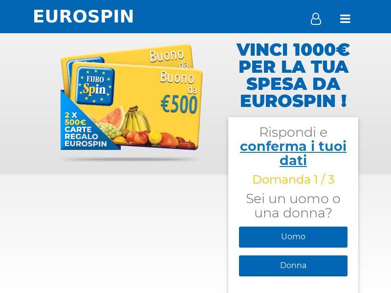 (14691) [WEB+WAP] Eurospin 2x500€ MONO - IT - CPL