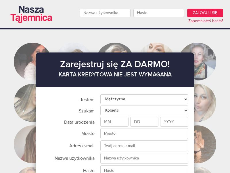 Nasza Tajemnica [MOB] (PL), [CPL], For Adult, Dating, Double Opt-In, women, date, sex, sexy, tinder, flirt