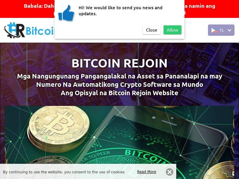 Bitcoin Rejoins Filipino 2807