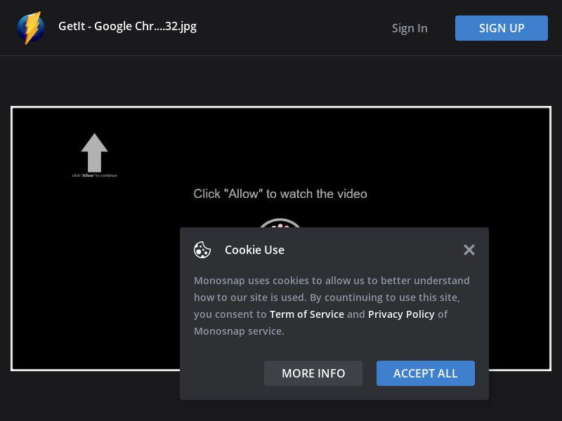 Multiple GEOs - Geo Group 1 - Click Allow Black - Chrome - Desktop