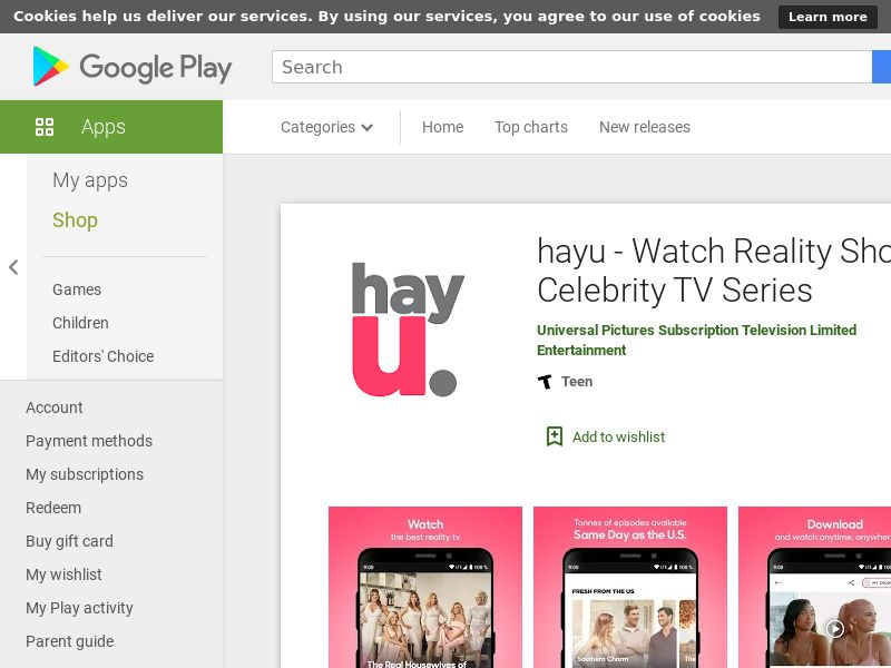 hayu -Android- HK - (CPE=subscription)