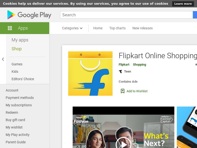 Flipkart Android IN CPR GAID