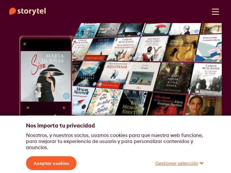 Storytel - ES (ES), [CPA]